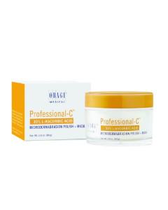 Питательная маска 2 в 1 для микродермабразии кожи лица
