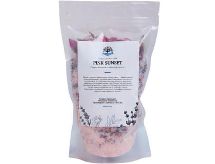 Микс для ванной с цветками лаванды и чайной розы «PINK SUNSET»