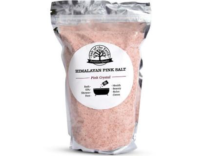 Розовая гималайская соль 1000 г (мелкий помол)