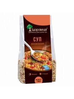 """Суп """"мексиканский"""", с рисом и кукурузой здороведа 250 г"""