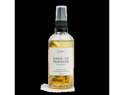 Гидрофильное масло для умывания и снятия макияжа Календула, Smorodina