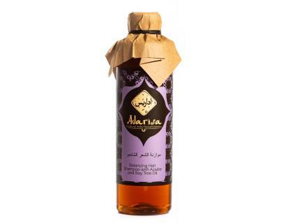Балансирующий шампунь для волос с азалией и маслом бей