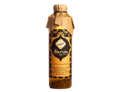 Натуральный шампунь с маслом нарда и пажитником