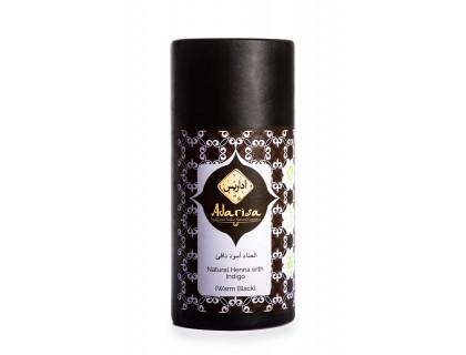 """Натуральная хна для волос с басмой (коричнево-черная) """"adarisa"""""""