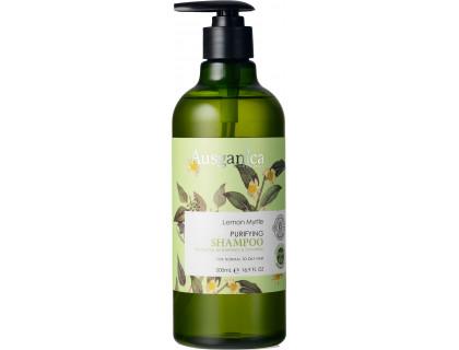 """Очищающий шампунь для жирных волос """"лимонный мирт"""""""