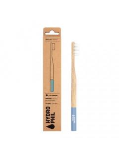 Щётка зубная натуральная из бамбука мягкая, синяя Hydrophil