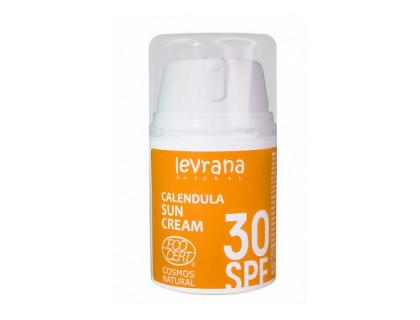 Солнцезащитный крем для тела календула, spf30 levrana 50 мл