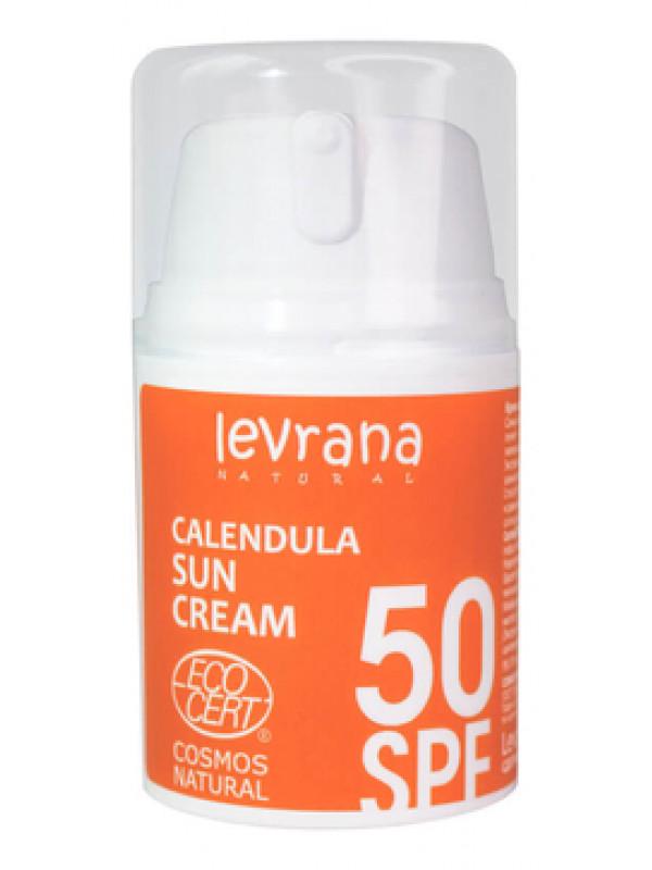 Солнцезащитный крем для тела Календула, SPF50 Levrana, 50 мл