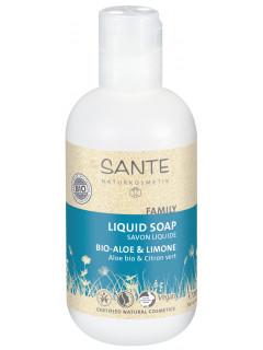 """Жидкое мыло """"с био-алоэ и лимоном"""" , 200 мл"""