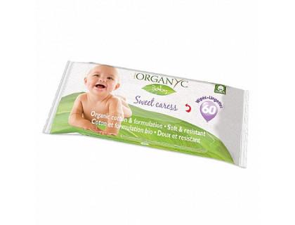 Детские влажные салфетки Organyc