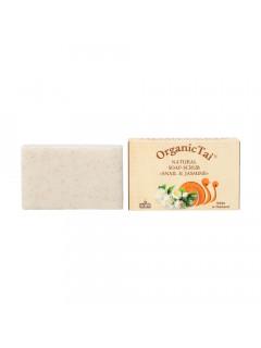 Натуральное мыло-скраб «экстракт улитки и жасмин», 100 мл