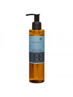 Безсульфатный укрепляющий шампунь для волос лемонграсс и лаванда