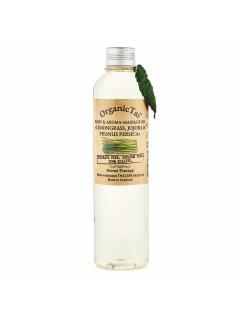 Масло для тела и аромамассажа «лемонграсс, жожоба и персик», 260 мл