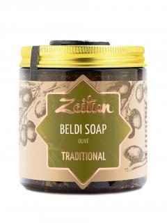 Деревенское мыло Бельди №1 традиционное с оливой и эвкалиптом, 250 мл