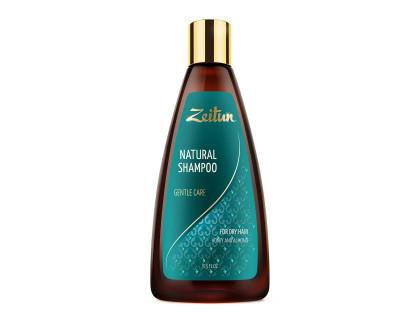 """Шампунь """"нежное очищение"""" для сухих волос с медом и маслом миндаля"""